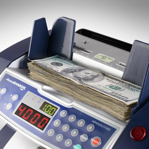 2-AccuBANKER AB 4000 UV/MG počítačka bankoviek