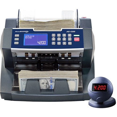 1-AccuBANKER AB 4200 UV/MG počítačka bankoviek