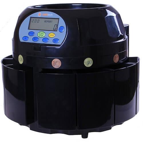 2-Cashtech 420 EURO počítačka mincí