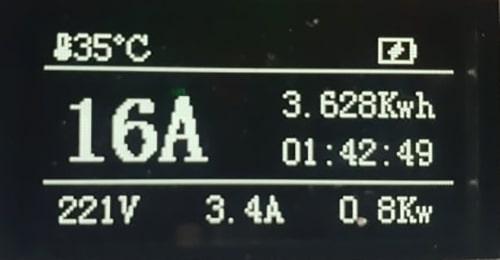 4-EV EVSE Type1 (max. 16A) EV Nabíjacie