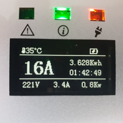 3-EV EVSE Type2 (max. 16A) EV Nabíjacie